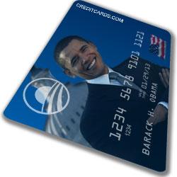 Obama credit card