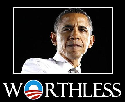 obama worthless