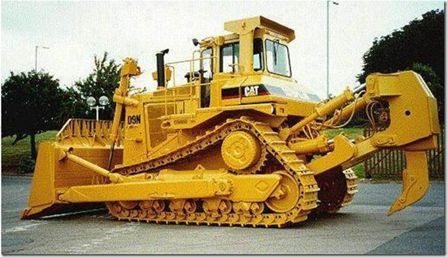 Caterpillar D-9 Bulldozer