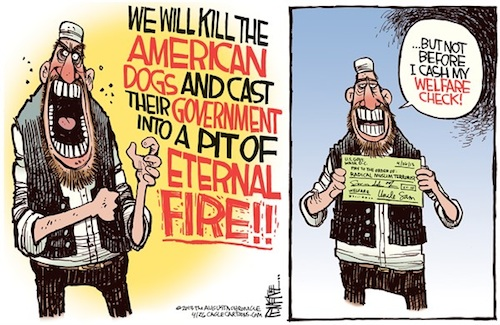 Americans finance their own deaths
