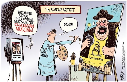 Liberal Media Smear Artist