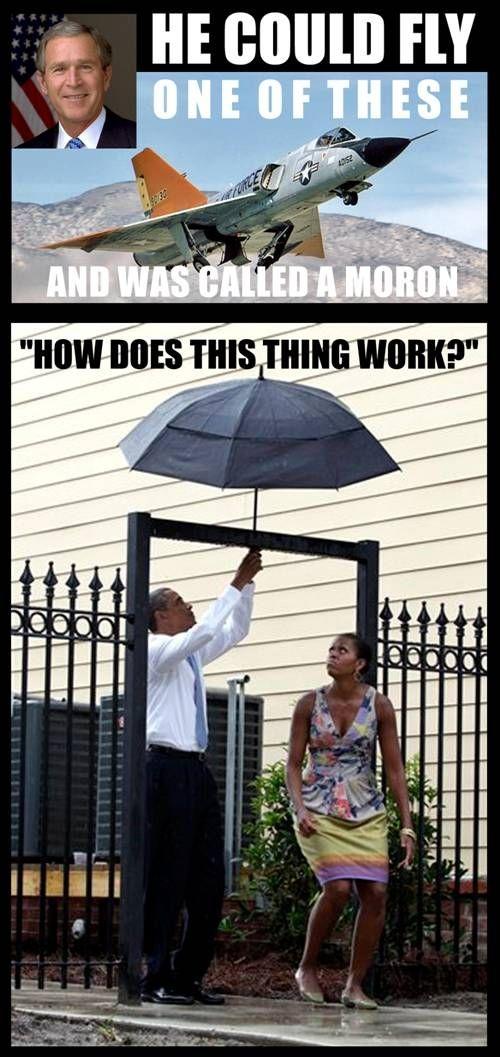 Bush Smart - Obama Stupid