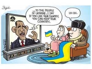 Obama to Ukraine