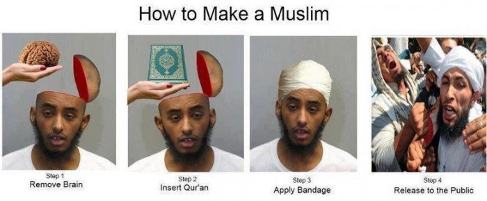 brainless muslims