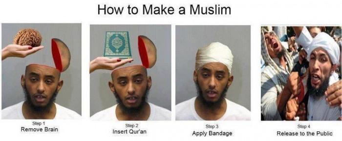 brainless muslims