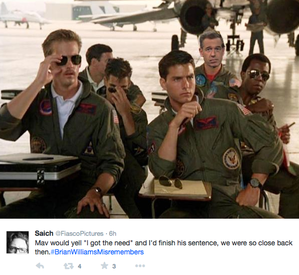 brian willaims in top gun