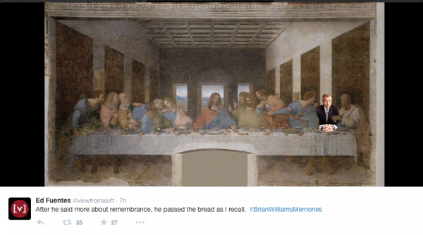brian williams Jesus