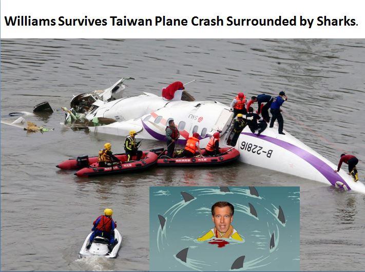 williams plane crash