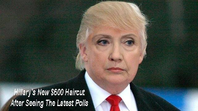 Hillary Gets a New Haircut | Jokes of The Conservative Papers