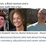 An Indian, a Black woman and a Black man walk into a bar