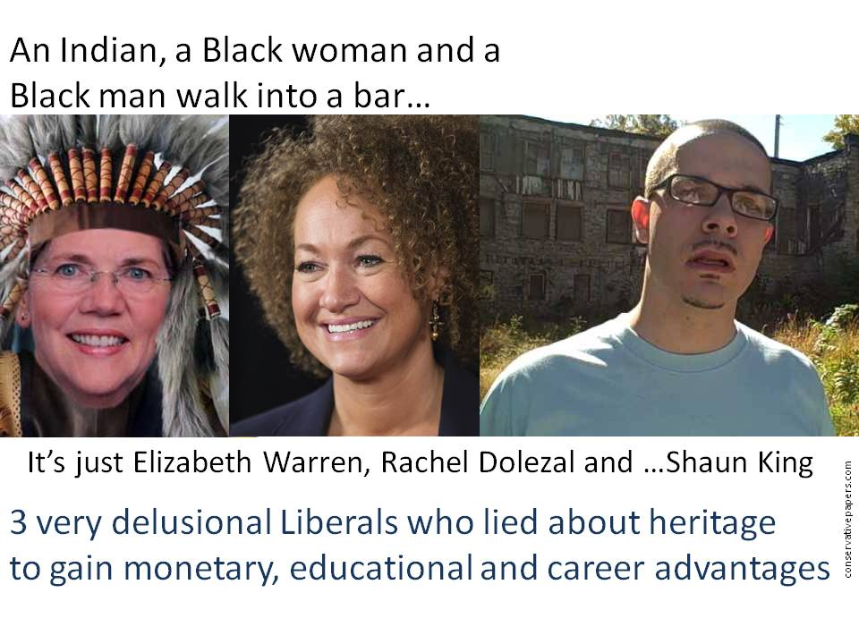 Rachel Dolezal and Shaun King