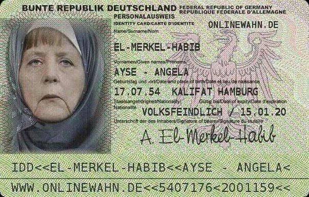 merkel passport