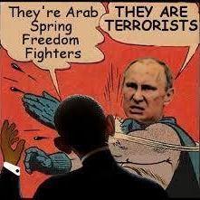 putin slaps obama