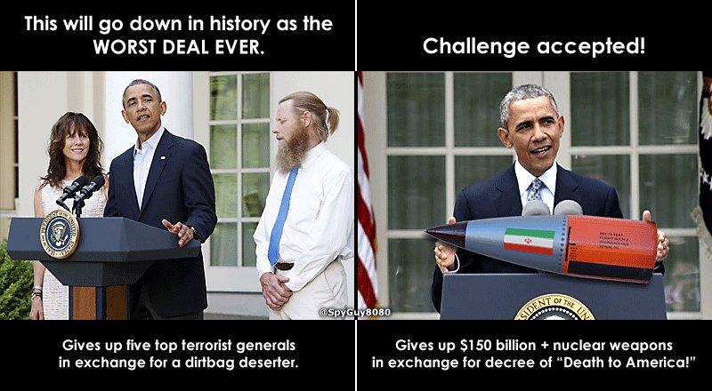Obama Taliban Iran Deals