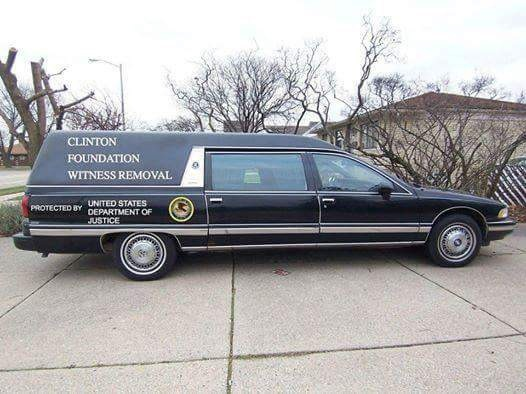 clinton witness removal