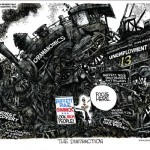 Obama Train Wreck