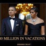 $80 Million in Vacations for the Obamas?