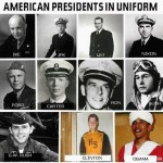 The Last 11 American Presidents In Uniform