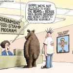 Government Food Stamp Program Not For Bears