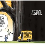 Sequestration Compared to Federal Spending