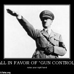 Those in Favor of Gun Control Raise Your Right Hand