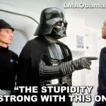 Darth Vader Confronts Obama