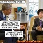 Obama Meets Muslim Boy