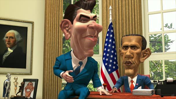 regan & obama
